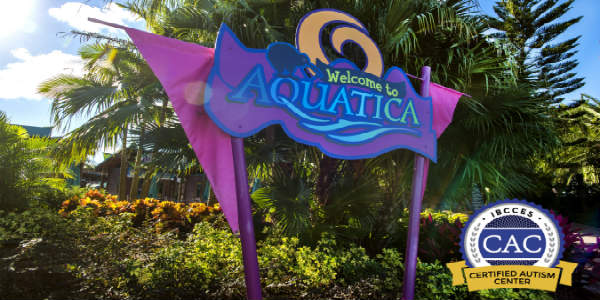 Aquatica Orlando became the first water park to become a Certified Autism Center (CAC) as distinguished by International Board of Credentialing and Continuing Education Standards (IBCCES).