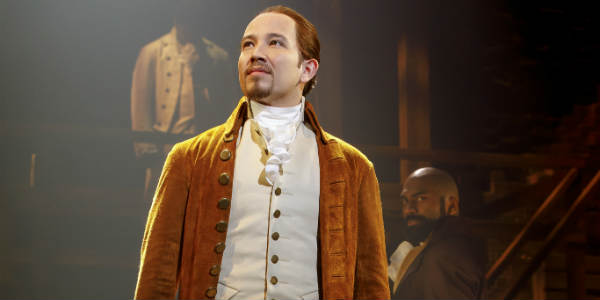 Hamilton at the Dr. Phillips Center for the Performing Arts Jan 22-Feb 10, 2019 - photographer Joan Marcus/Hamilton