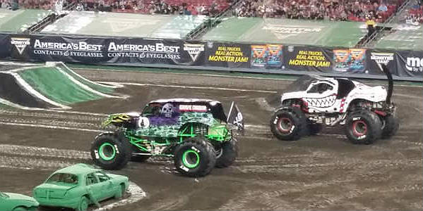 Monster Jam at Raymond James Stadium in Tampa