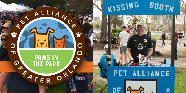 Paws in the Park Takes Place at Lake Eola