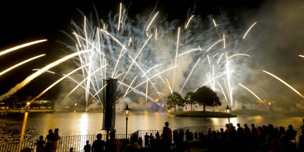 IllumiNations: Reflections of Earth show at Epcot