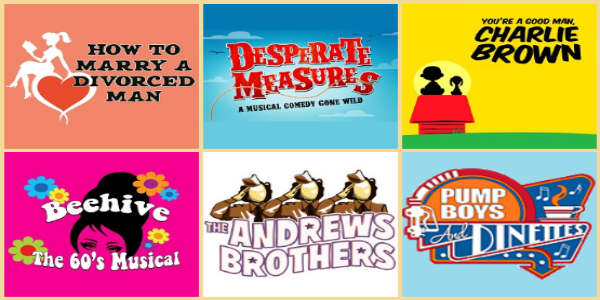 The Winter Park Playhouse has announced details of its 2019-2020 Season, and it contains a 6-pack of musicals to check out.