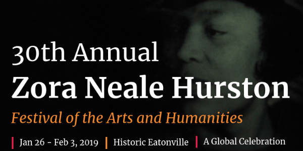 Author Zora Neale Hurston will be celebrated by historic Eatonville with annual Zora! Festival Jan 26 - Feb 3, 2019, and we have the details.