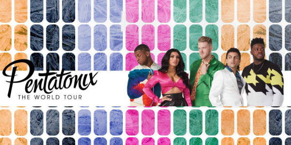 Pentatonix will bring their upcoming world tour, featuring special guest Rachel Platten, to the Amway Center in Orlando