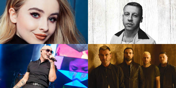 Universal Orlando Mardi Gras - Concert headliners include Sabrina Carpenter, Macklemore, Pitbull, and BUSH.