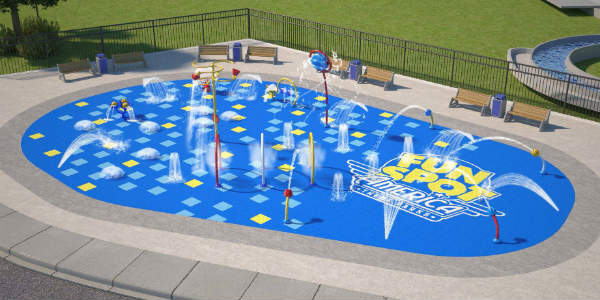 Fun Spot America has announced a new interactive water feature will be opening at the Orlando location Summer 2019.