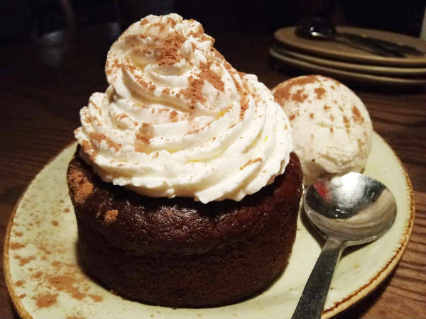 Tony Roma's Sweet Heat Chocolate Cake