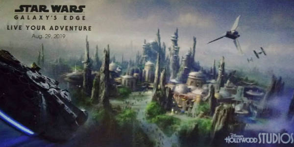 Walt Disney World has announced that due to high guest demand, Star Wars: Galaxy's Edge will open at Disney's Hollywood Studios on Aug. 29, 2019.