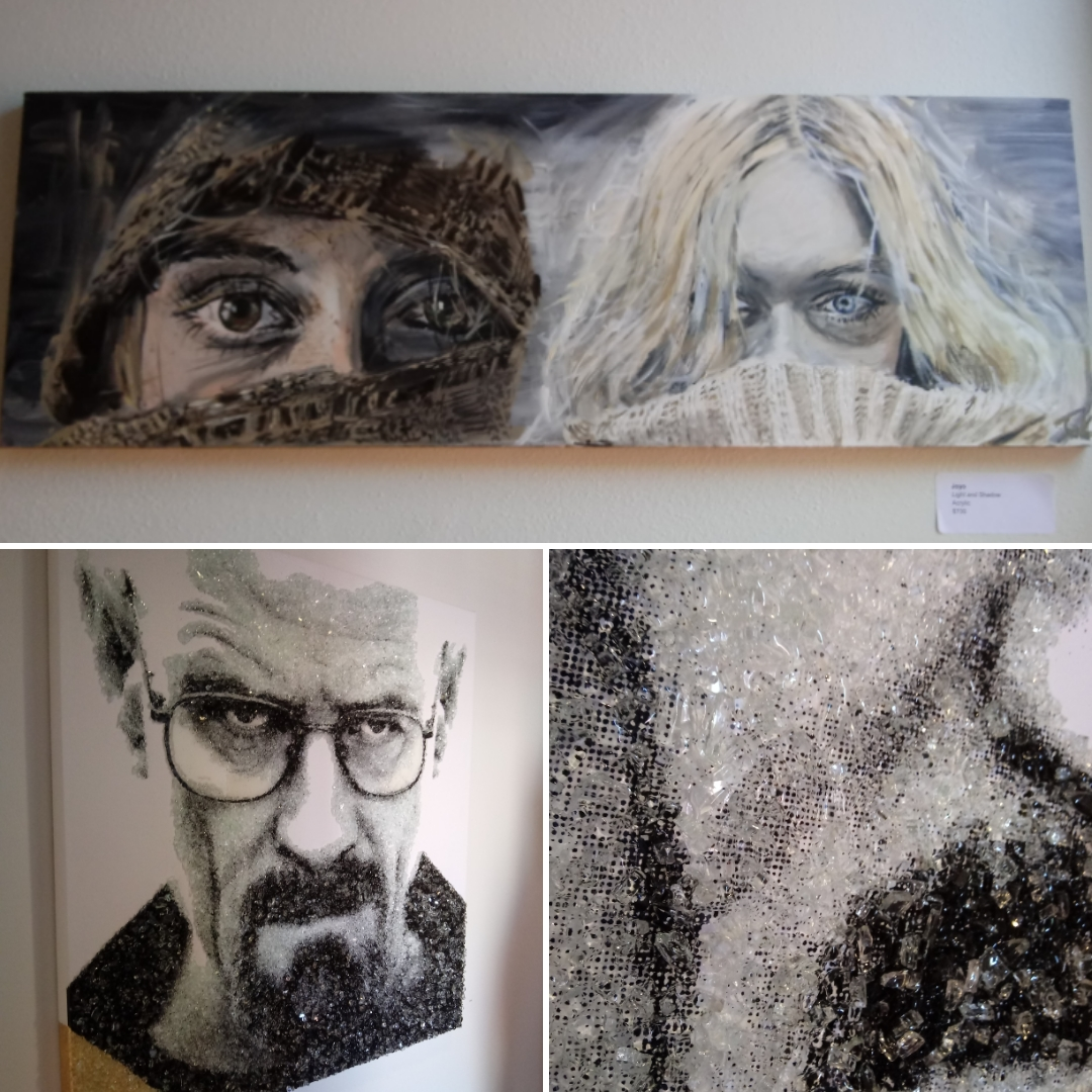 CityArts Orlando - Light and Shadow by Joyo + Breaking Bad in crystals