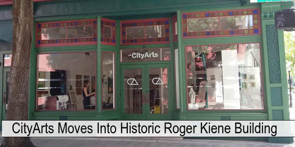 CityArts has relocated to the historic Roger Kiene Building in downtown Orlando and it features two levels of great local arts.
