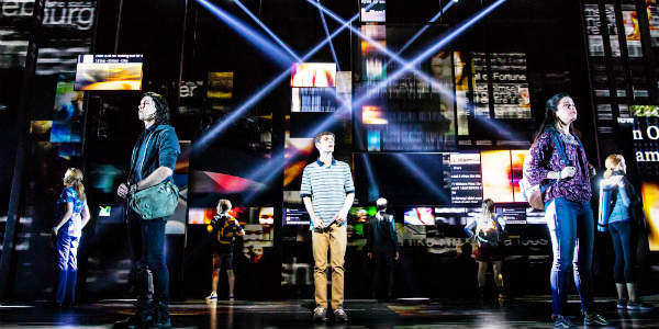 Dear Evan Hansen, part of the Fairwinds Broadway in Orlando series, will be performed at Dr. Phillips Center April 16-21, 2019 - photo: Matthew Murphy/Dear Evan Hansen