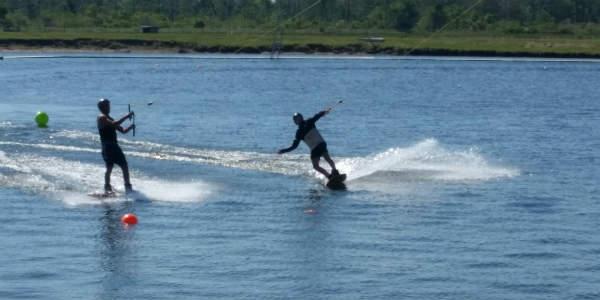 Nona Adventure Park in Lake Nona - water ski