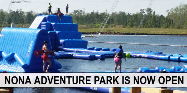 CitySurfing Orlando's family writer and her kids checked out the new Nona Adventure Park in Lake Nona, and came back with this review.