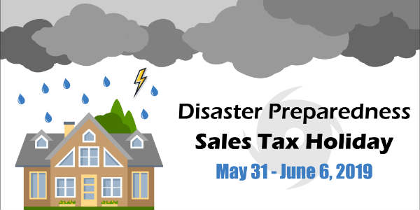The Florida Hurricane Supplies Sales Tax Holiday runs May 31-June 6, 2019