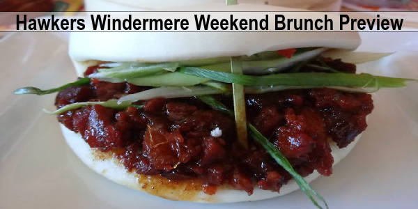 Hawkers Windermere - Weekend Brunch