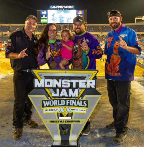 Monster Jam World Finals XX - Monster Jam World Finals XX - Monster Jam World Finals XX - Linsey Reed