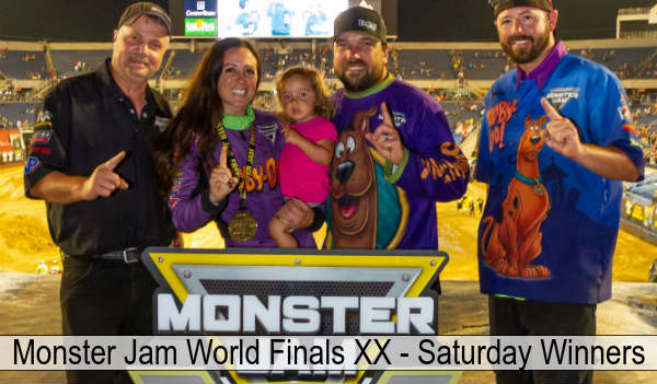 Monster Jam World Finals XX - photo: Feld Motor Sports