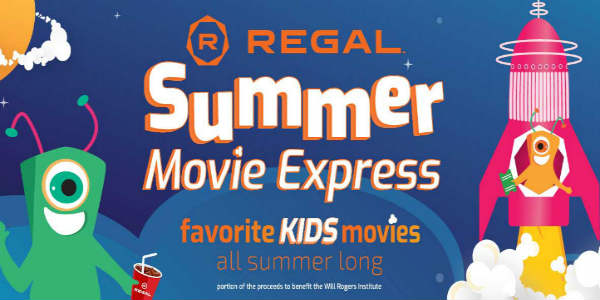 the Summer Movie Express at Regal Cinemas
