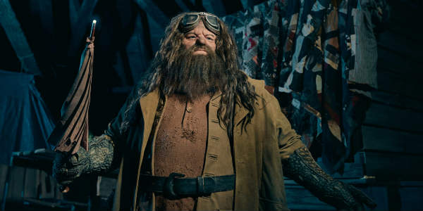 Hagrid from Hagrid's Magical Creatures Motorbike Adventure