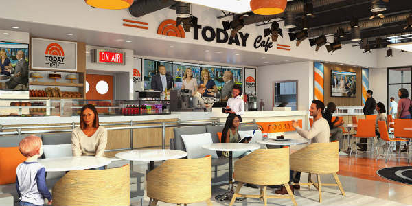 Universal Orlando will host the Grand Opening of its new TODAY Cafe on May 16