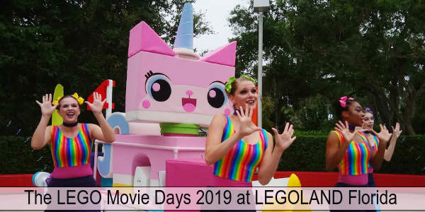 The LEGO Movie Days event at LEGOLAND Florida