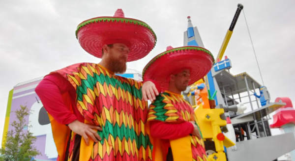 Taco Men at LEGOLAND Florida