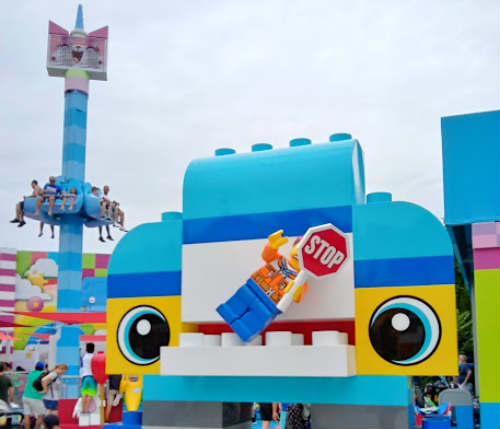 UniKitty's Disco Drop at LEGOLAND Florida