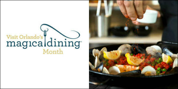 Foodies...get ready! Visit Orlando has announced the return of its Magical Dining Month