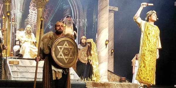 The Holy Land Experience Debuts New Show'David: King of Jerusalem