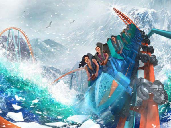 SeaWorld Orlando - artist rendering of Ice Breaker