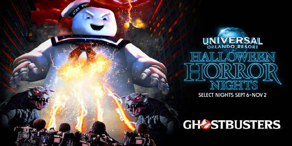 Universal Orlando Halloween Horror Nights - Ghostbusters