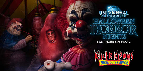 Universal Orlando Halloween Horror Nights - Killer Klowns from Outer Space