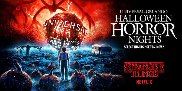Netflix's Stranger Things will Return to Universal Orlando for Halloween Horror Nights