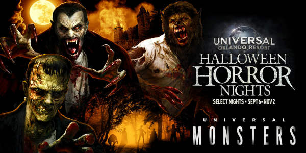 Classic Monsters will Come to Universal Orlando for Halloween Horror Nights 2019