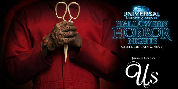 Universal Orlando to Bring Jordan Peele's Us to Halloween Horror Nights 2019