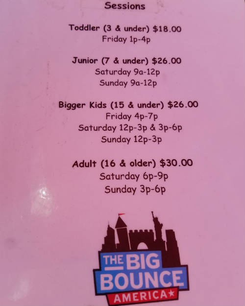 The Big Bounce America Tour - Kissimmee 2019