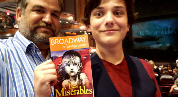 Les Miserables at Dr. Phillips Center - John and Indigo Frost