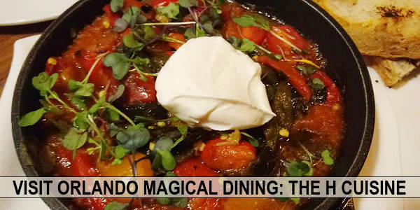 Visit Orlando Magical Dining  at The H Cuisine in Dr. Phillips.