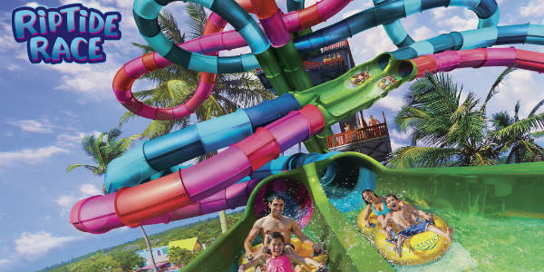 Aquatica Orlando announced Riptide Race