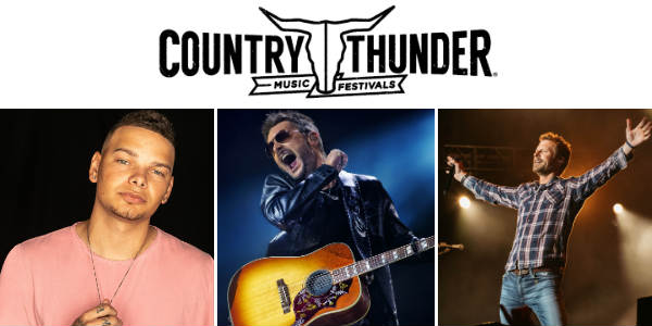 Country Thunder, North America's largest country music festival brand
