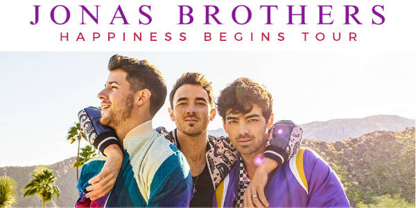 Jonas Brothers Bring Happiness Begins Tour to Orlando's Amway Center