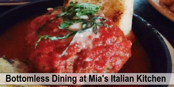 Mia's Italian Kitchen Orlando - Giant Meatball
