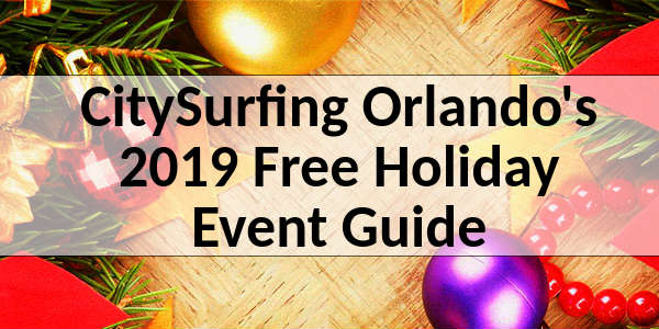 CSO Central Florida Holiday Events