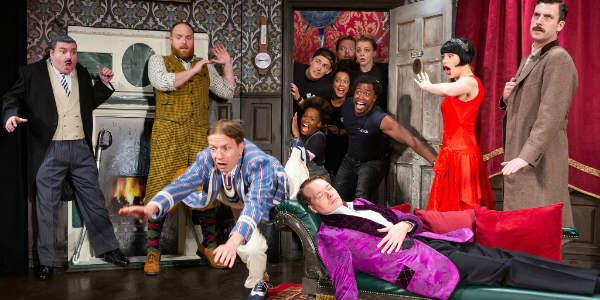 The Play That Goes Wrong cast