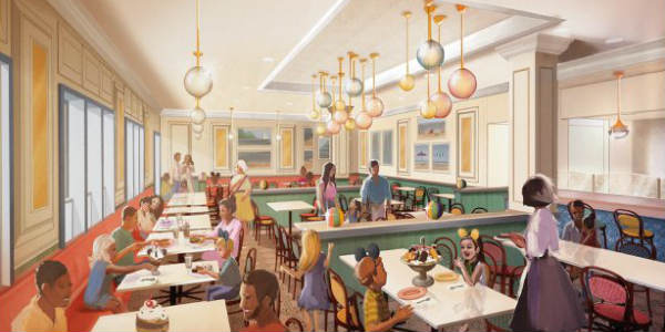 Beaches & Cream Soda Shop at Disney's Beach Club Resort