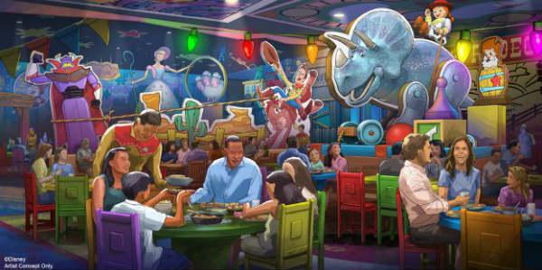 Roundup Rodeo BBQ Restaurant at Walt Disney World