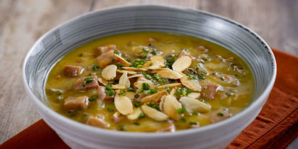 Epcot International Festival of the Holidays - Canadian Wild Rice and Ham Soup
