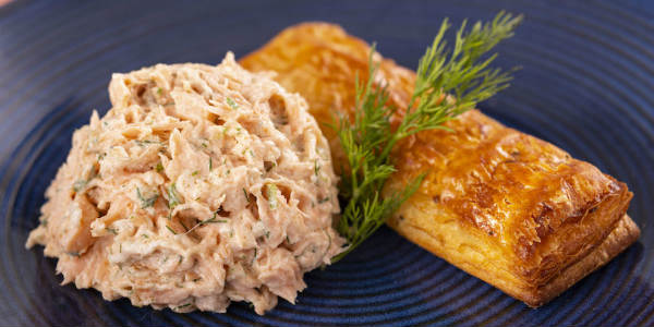 Epcot International Festival of the Holidays -Salmon Spread with House-made bread