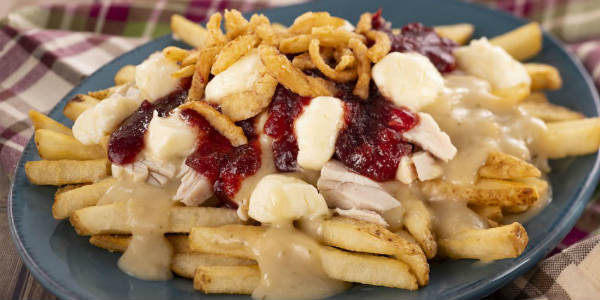 Epcot International Festival of the Holidays -Turkey Poutine