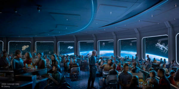 Space 220 Restaurant to Open at Epcot